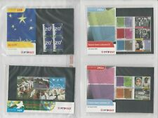 Netherlands Davo PTT Album, Mint NH Stamps & Sets, 20 Hingless Pages, 2001-02