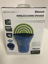 Sound logic Wireless Dome Speaker Bluetooth iPhone iPad Mobile Phones Tablets Co