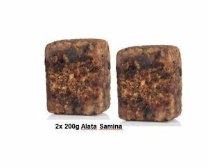 Alata Samina - Black Soap- Afrikanische Schwarze Seife aus Ghana  2x 200g