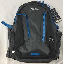 JanSport Backpack Agave 32 Bag Forge Grey Laptop Sleeve
