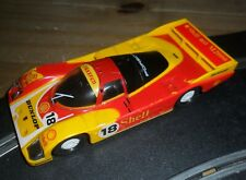 Scalextric Porsche 962 Le Mans touring endurance car superb & fast with lights