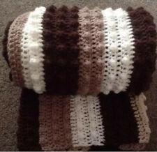 Chocolate Coffee Cream Neutral Baby Blanket