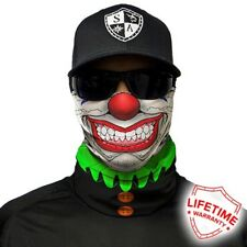 FACE MASK - CLOWN AROUND - Motorcycle, Bike, Gym, Outdoors, Snow, Fishing Masks