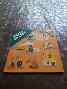 TUTTO UN ANNO illustrazioni di Richard Scarry prime letture Ed. Mondadori 1978