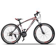 "27.5"" Shimano Men's Mountain Bike 21 Speed MTB Bicycle Cycling Sports Red Black"