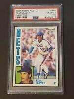 1984 Topps Nestle Tom Seaver #740 PSA 10 POP 6 Ultra Rare New York Mets