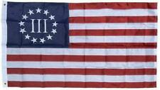 New listing Besty Ross Nyberg Iii American Flag Nylon Embroidered 3X5 ft