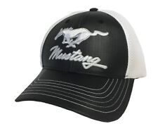 BRAND NEW LICENSED FORD MUSTANG PONY MESH EMBROIDERED ADJUSTABLE HAT CAP!