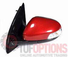 Ford FG & FGX Falcon LH Door Mirror Blinker Temp & Memory EMPEROR RED 5/08-10/16