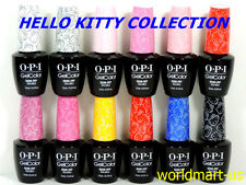 OPI GelColor UV/LED Gel Polish 15ml/.5oz HELLO KITTY COLLECTION 12 Colors of Kit