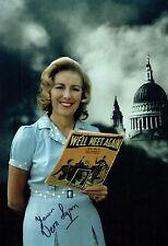Vera LYNN SIGNED Autograph 12x8 Photo 1 AFTAL COA The Forces Sweetheart