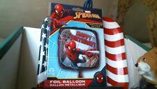 "Anagram 18"" Square Foil Balloon Spider-Man Happy Birthday Kids Birthday Party"