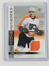 2019-20 SP Hockey SP Rookie Authentics JERSEY Joel Farabee #103 Flyers RC
