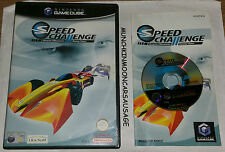 Speed CHALLENGE Jacques villeneuves racing vision pal nintendo gamecube et wii