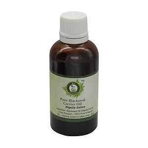 R V Essential Pure Blackseed Oil Nigella Sativa 100% Natural Cold Pressed Uncut