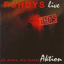 CD - Puhdys - 25 Jahre Die Totale Aktion (Live) - A341