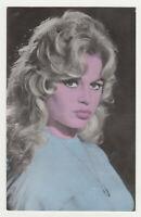 BRIGITTE BARDOT Actress Movie Vintage Original Old Photo Postcard Color