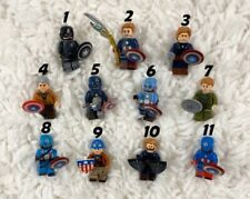 Captain America Lego Minifigures | Set of 11