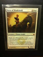 Magic the Gathering card Hero of Bladehold Mirrodin Besieged MTG Mythic RARE!