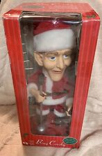 2001 Bing Crosby Santa, Singing & Moving Animated Doll 19""