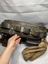 Vintage Wm Bashlin Co Leather Linemans Power Amp Utilities Climbing Belt