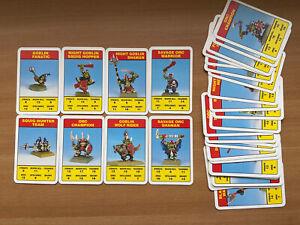 Citadel Combat Cards - Mid- 90's Games Workshop Orcs & Goblins Card Game