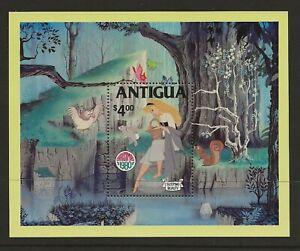 Antigua  Disney 1980 Christmas sg. MS680 miniature sheet MNH