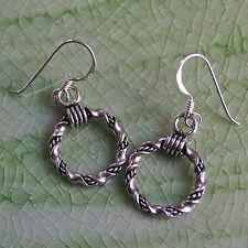Handmade Thai Design Earrings 925 Sterling Silver