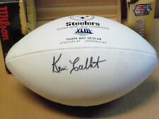 Kevin Colbert, Pgh Steelers, Signed SB XLIII Mini Football, General Manager
