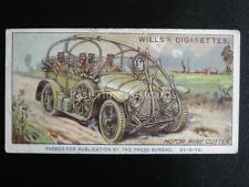 No.41 MOTOR WIRE CUTTER Military Motors PASSED BY CENSOR 21-9-16 Wills 1916