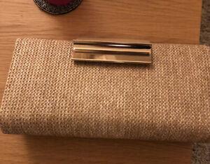Accessorize Gold Clutch Bag