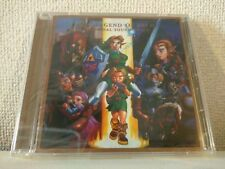 USED ​​The Legend of Zelda: Ocarina of Time Original Soundtrack JAPAN 1998 F/S