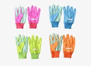 1 Paar Gartenhandschuhe Kinder WAHL Kinderhandschuhe Handschuhe pink blau grün
