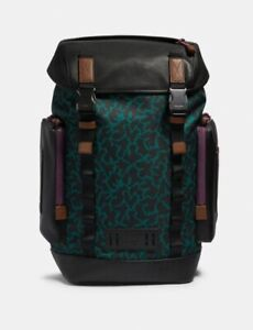 NEW Coach x Disney Animal Print Ranger Backpack Original $650