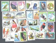 Birds 100 all different-stamp- collection
