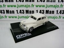 OPE63R voiture 1/43 IXO OPEL collection : KAPITAN 51 blanche