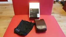 UNUSED LEICA 18700 V-LUX 20 CASE LEICA V-LUX 20 LEATHER CASE LEICA VLUX 20 BROWN