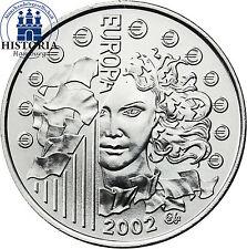 Unzirkulierte Euro Silber Gedenkmünzen aus Frankreich
