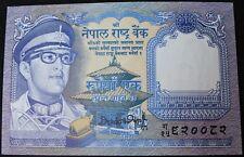 """Nepal 1 rupia """"firma 12' Nota Bancaria     KM monedas billetes de banco"""