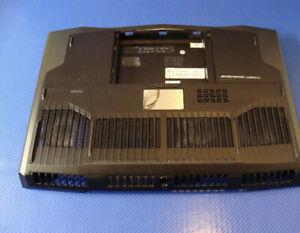 "Dell Alienware M18x R2 18.4"" OEM Bottom Case Cover w/ Speakers 0FF3N GG3F9 A+Con"