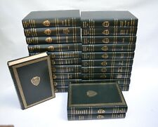 The Harvard Classics 1969 Deluxe Edition 23 Volumes Hardcover Registered Green