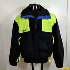 COLUMBIA VAMOOSE Nylon Shell Ski Jacket Parka Mens Size M Black/yellow