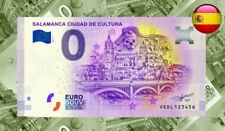 Note Billet Billete Souvenir 0 euros SALAMANCA Ciudad de Cultura