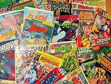 HUGE 20 Comic Book Lot 1960s - 2010s Bronze - Modern Marvel DC Indy Mixed