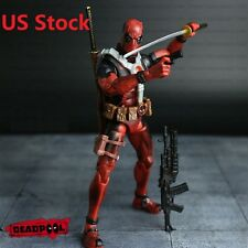 "6"" HOT Marvel DEADPOOL Universe X-Men Comic Series Action Figure Toy Without box"