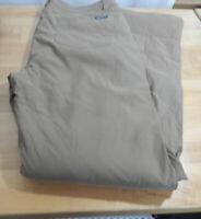 USED Men's Eddie Bauer Fleece Lined Water Resistant w/Zip Cargo Pockets
