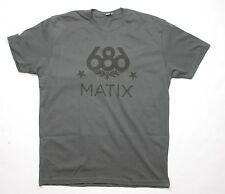 686 LTD Matix Regiment Tee (L) Heavy Metal