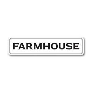 Farmhouse Farmhouse Sign, Barn Decor Metal Sign