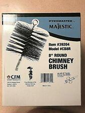 "Majestic Pyromaster 8"" Round Clay Stainless Round Chimney Item 39204 Model CB8R"