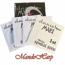 Mandola Strings - Daniel Mari Spiral 2000 Steel and Silver Plated Wound